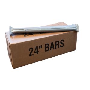 "24"" Wardrobe Hanger Bars"